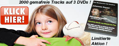 Gemafreies Sonderedition 3 DVDs mit 2000 gemafreien Tracks
