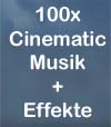 100 x Cinematic Musik + Sounddesigns gema frei