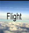 43) Flight über den Wolken für Wartezimmer TV