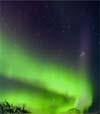 66) Polarlichter für Wartezimmer TV