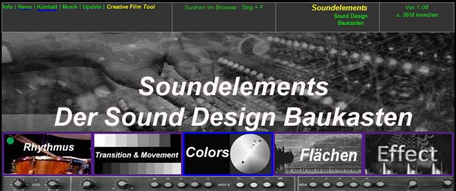 Sound Design Baukasten
